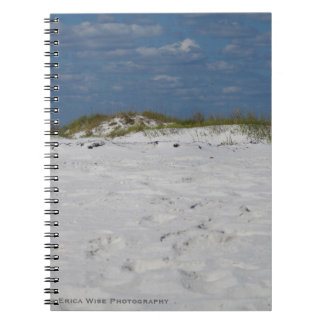 White Sand Beach Notebook