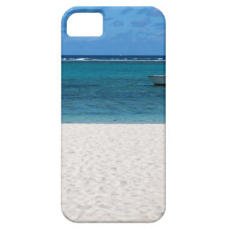 White sand beach of Flic en Flac Mauritius overloo iPhone SE/5/5s Case
