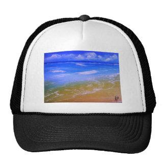 White Sand Beach Trucker Hat