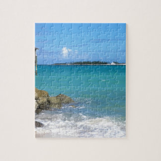 White Sand Beaches in the Bahamas Jigsaw Puzzle