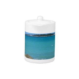 White Sand Beaches in the Bahamas Teapot