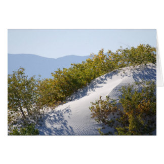 White Sand Dunes National Monument Card