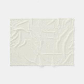 White Sand Solid Color Fleece Blanket
