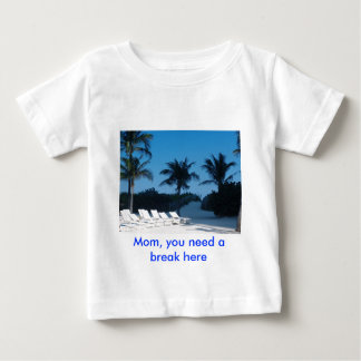 white sands baby T-Shirt