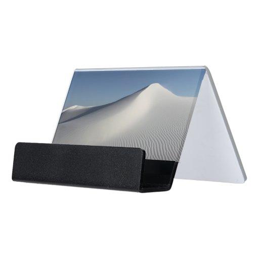 White Sands Desk Business Card Holder
