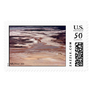 White Sands Fly Over 22 Postage