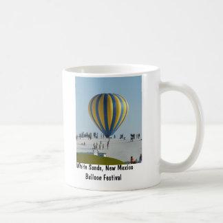 White sands Hot Air Balloon festival Coffee Mug