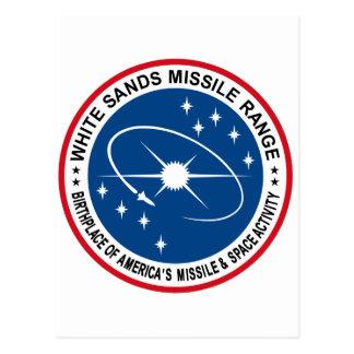 White Sands Missile Range Postcard