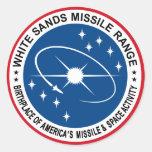 White Sands Missile Range Round Sticker