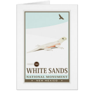 White Sands National Monument 2 Card