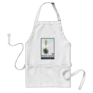 White Sands National Monument 3 Adult Apron