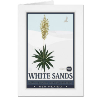 White Sands National Monument 3 Card