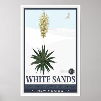 White Sands National Monument 3 Poster