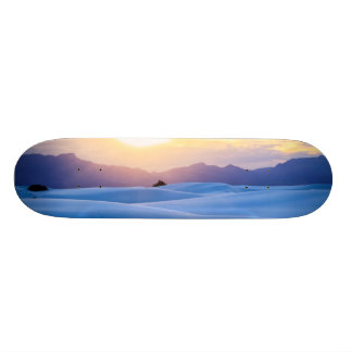 White Sands National Monument 3 Skateboard Deck