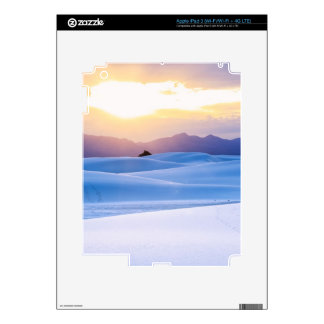 White Sands National Monument 3 Decals For iPad 3