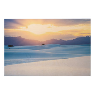 White Sands National Monument 3 Wood Print