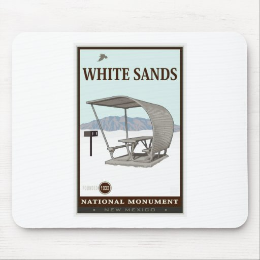 White Sands National Monument 4 Mouse Pad