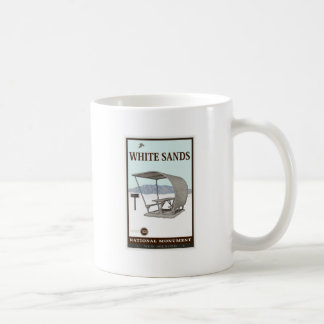 White Sands National Monument 4 Coffee Mugs
