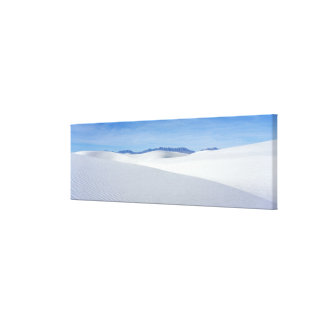 White Sands National Monument, New Mexico, USA Canvas Print