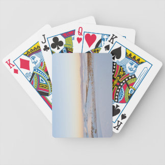 White Sands National Monument, Transverse Dunes 2 Bicycle Playing Cards