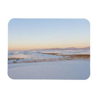 White Sands National Monument, Transverse Dunes 2 Rectangular Photo Magnet