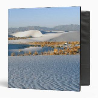White Sands National Monument, Transverse Dunes 3 Binder