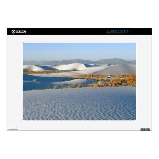 """White Sands National Monument, Transverse Dunes 3 Decal For 15"""" Laptop"""