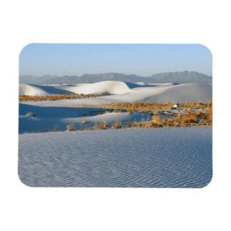 White Sands National Monument, Transverse Dunes 3 Rectangular Photo Magnet