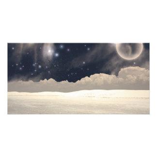 White Sands New Mexico Interpretation Custom Photo Card
