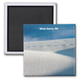 White Sands, NM 2 Inch Square Magnet