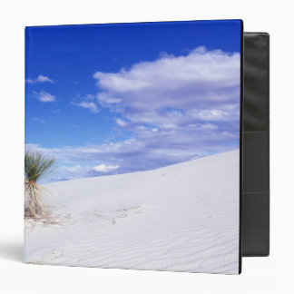 White Sands NM, New Mexico, USA 3 Ring Binder