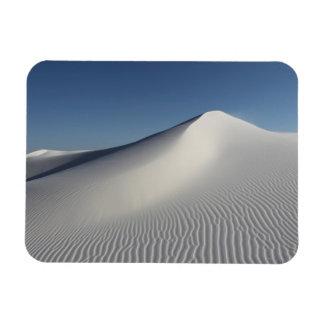 White Sands Rectangle Magnet