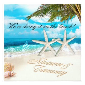 White Sands Starfish ASK ME FOR YOUR NAMES IN SAND Card