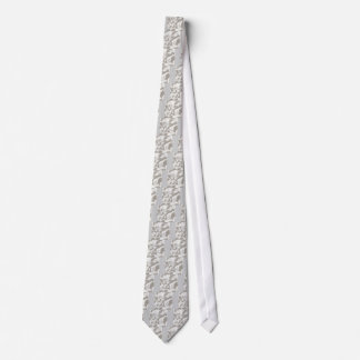 WHITE SATIN CLOUDS BACKGROUNDS WALLPAPERS TEMPLATE NECK TIE