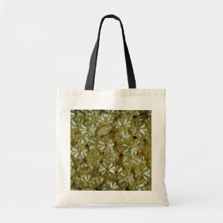 white Satin flowers flowers Budget Tote Bag