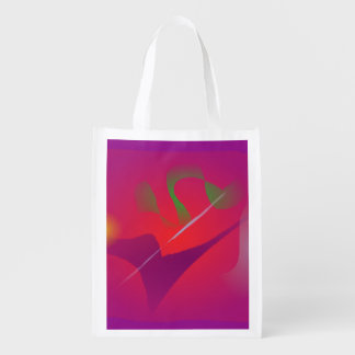 White Scar Grocery Bag