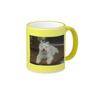 white schnauzer coffee mug