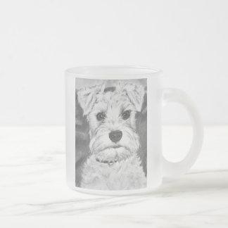 White Schnauzer Coffee Mugs