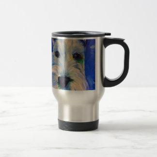 White Schnauzer's RULE ! Coffee Mug