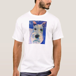 White Schnauzer's RULE ! T-Shirt