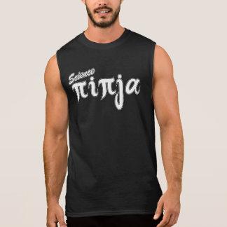 White Science Ninja Sleeveless Shirt