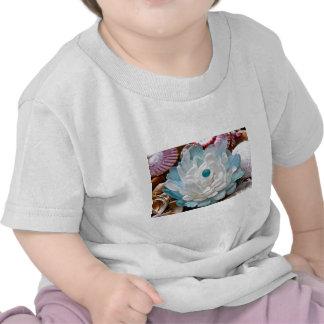 White Sea Glass Flower T-shirt