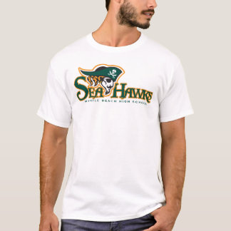 White Seahawks T-Shirt(L) T-Shirt