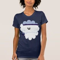 White Seal Pup on Iceberg Cartoon Art T-Shirt