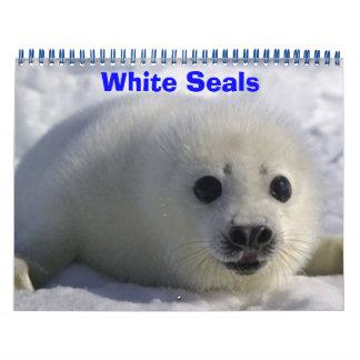 White Seals! Calendar