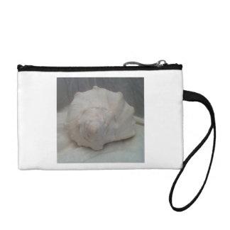 White Seashell Coin Wallet