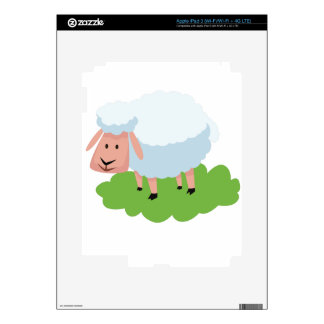 white sheep and shaun the sheep iPad 3 skins