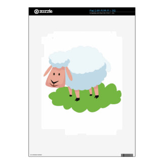 white sheep and shaun the sheep skin for the iPad 2