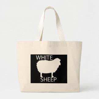White Sheep Tote Bag