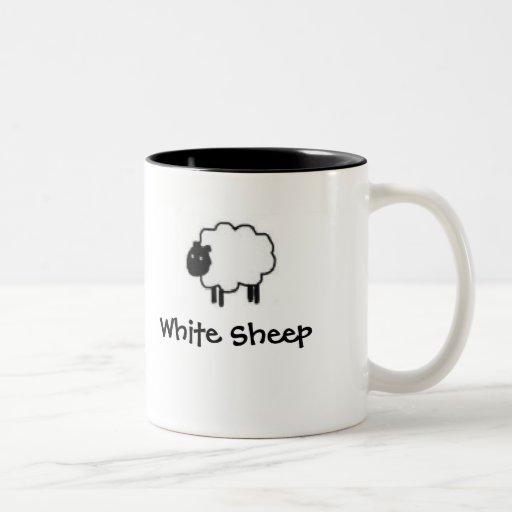 White Sheep Black Sheep 15 oz. mug